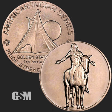Appeal to Spirits 1 oz Copper Coin