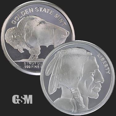 Buffalo 5 oz Silver Coin