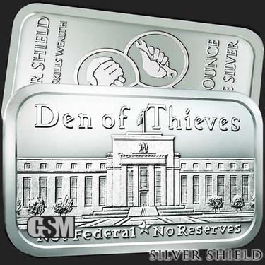 Den of Thieves 1 oz Silver Bar