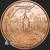 1 oz Bankster Justice Copper Bullion back- Crescent City Silver