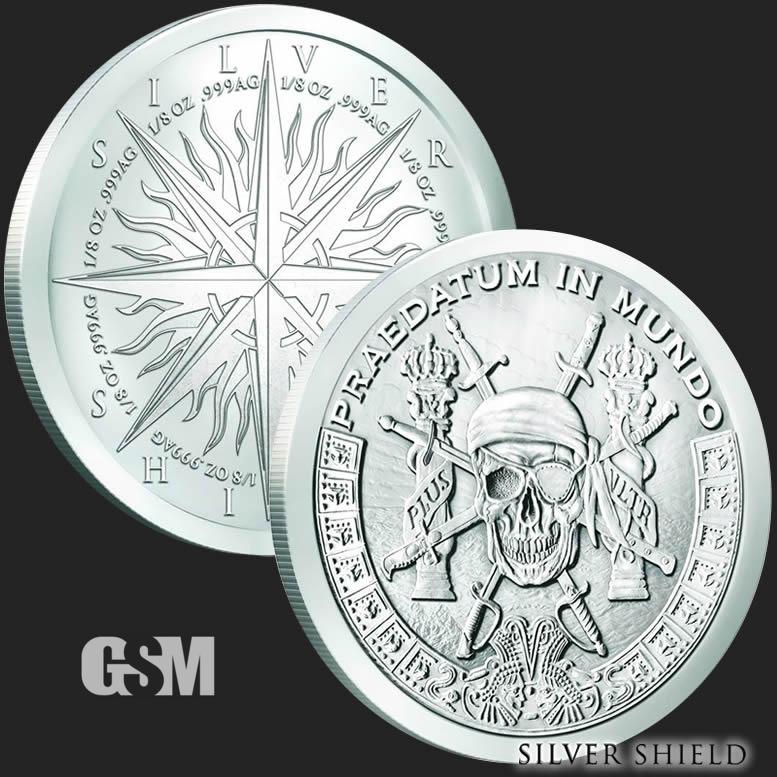 Pieces Of Eight 1 Oz Silver Round