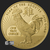 2017 1 oz Gold Year of the Rooster 3D .9999 Fine Obverse