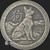 Antiqued Year of the Dog 2 oz Silver bullion round obverse design