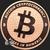 Bitcoin Cryptocurrency Copper Bullion round 1 oz .999 fine Obverse