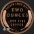 2 oz Lincoln Wheat Copper Bullion Round .999 Fine Reverse