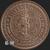 Miners Go Deeper - 1 oz Copper Bullion Silver Shield by Golden State Mint Reverse