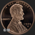 5 oz Copper Lincoln Wheat Cent Bullion round Obverse