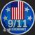 Golden State Mint 9/11 Remembrance  2018 1 oz Silver Round .999 Fine Obverse
