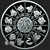 Year of the Pig 1 oz Silver bullion round reverse design