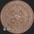 1 oz Copper Aztec Calendar .999 fine round Reverse