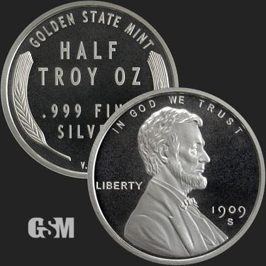 "Lot of 10 /""Abraham Lincoln/"" Design 1 gram .999 Fine silver round. Coin"