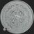 5 oz Aztec Calendar .999 Fine Silver BU Reverse
