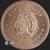 5 oz Aztec Calendar Copper Bullion Round .999 Fine Obverse
