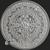 2 oz Aztec Calendar .999 Fine Silver round Reverse