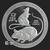 Year of the Rat 1 oz Silver bullion round obverse design