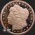 5 oz Morgan copper round .999 fine copper Golden State Mint Obverse