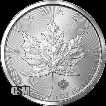 1 oz. Platinum Canadian Maple Leaf