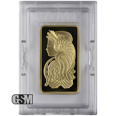 5 oz Gold Bar Pamp