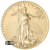 1 oz American Gold Eagle Obverse