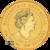 2020 2 oz Perth Mint Gold Mouse Reverse