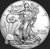 2019 1 oz American Silver Eagle obverse