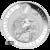 2020 Kilo Australian Silver Kookaburra Reverse