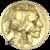 1 oz American Gold Buffalo obverse
