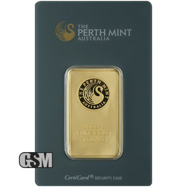 1 oz Gold Bar Perth