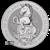2019 10 oz British Silver Queens Beast Unicorn Obverse