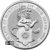 2020 2 oz Silver Queens Beast White Lion of Mortimer Obverse