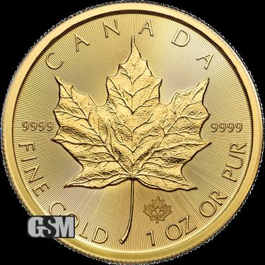 2020 1 oz Canadian Gold Maple Leaf