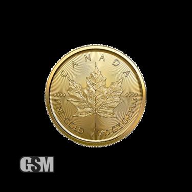 2020 1/10 oz Canadian Gold Maple Leaf