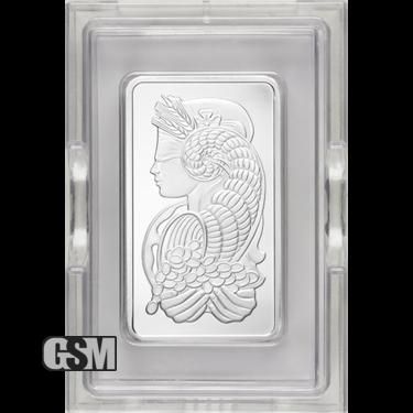10 oz Platinum Bar Pamp
