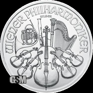 2020 1 oz Austrian Silver Philharmonic