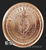 1 oz Bitcoin Copper .999 Fine Billion Reverse Round 2020