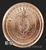 Silver Shield 1 oz Copper Peace on Earth .999 Fine Copper Bullion Reverse 2019