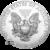 2020 1 oz American Silver Eagle Reverse