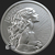 2 oz Silver Bullion Justice MiniMintage at Golden State Mint by Silver Shield Obverse