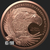 2 oz GSM Copper Eagle .999 Fine Copper Obverse