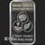 1 oz Silver Bar Bu Duality Silver Shield Golden State Mint Reverse
