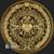 1 oz Aztec Calendar Gold bullion round .999 fine reverse