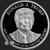 Golden State Mint Trump 1 oz Silver Proof Round .999 Fine Obverse