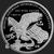 Golden State Mint Trump 1 oz Silver Proof Round .999 Fine Reverse