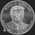 Golden State Mint Trump 1 oz Silver BU Round .999 Fine Obverse