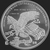 Golden State Mint Trump 1 oz Silver BU Round .999 Fine Reverse