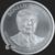 Golden State Mint Trump 2 oz Silver BU Round .999 Fine Obverse
