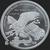 Golden State Mint Trump 2 oz Silver BU Round .999 Fine Reverse
