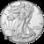 2020 1 oz American Silver Eagle Obverse US Mint
