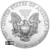 2020 1 oz American Silver Eagle Reverse US Mint