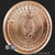 Justice - 1 oz Copper Bullion Silver Shield by Golden State Mint Reverse
